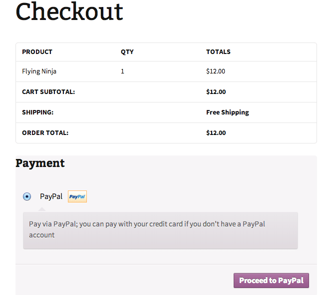 Pay Page